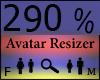 Any Avatar Size,290%