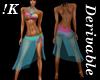 !K! Delure Bikini w/Wrap