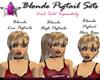 *G* Blonde High Pigtails