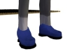 (1M)BLUE SEUDE SHOES