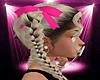 -S- Pink Hair Ribbons