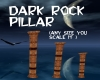 Dark Rock Plillar