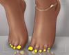 ṩ| Yellow Pedicure v2