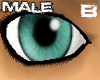 [B] Natural Teal eyes