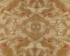 {R} Cream silk rug