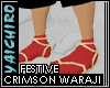 Crimson Waraji
