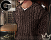 GL| FW Cable Knit Vneck