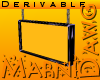 Derivable Ceiling Sign
