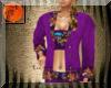 Western purple suit