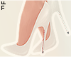 |L White Pumps