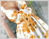 Floral Sundress Orange