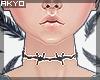 ϟ Barbedwire choker