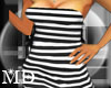 *MD*Blackwhitetubedress