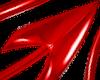 Devil Tail PVC red m
