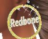 REDBONE HOOP EARRINGS