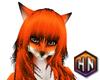 fox furry head f anyskin