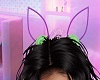 Purp Bunny Ear Headpiece