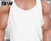 White Summer Tank Shirt