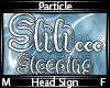 Shh... Sleeping Particle