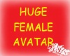 *Mus* Huge Female Avatar