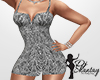 B&W Tight Dress