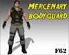 Mercenary bodyguard