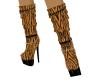 Tiger Calf High Boots