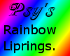 Muzzle liprings- Rainbow