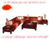 Evening Glow Chat Sofa
