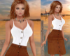 TF* Cami & Brown Leather