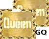 Plated Gold Name QUEEN