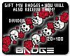 Red Skull Divider Set