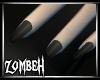 [ZB] Grey/Black Nails