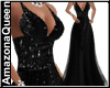 Romantic Black Gown