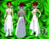 Sin-der dress in white