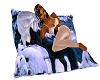 Wolf Cuddle Pillow