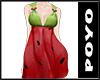 summer dress-watermelon