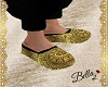Arabic Shoes Gold