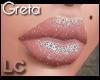 LC Greta Silver Glitter