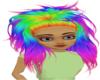 Bellatrix Rainbow Hair