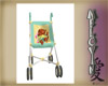 Pooh Stroller & Baby [G]