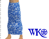 [WK] Blue Hawaii Sarong