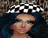 M/F Checkers Beret