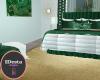 emerald suite gold rug