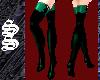 !*Green Thigh High Boots