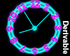 [A]-Neon Animated Clock