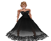 Black lacy ballgown