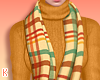 K|FallPlaidScarf