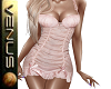 ~V~Pink Polka dot Dress