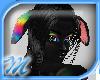 M*Rainbow dog ears B F/M